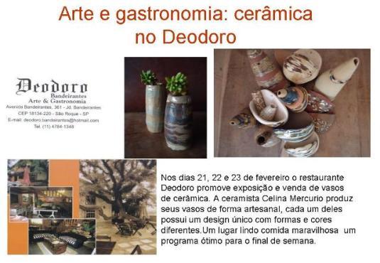 cerâmica em São Roque